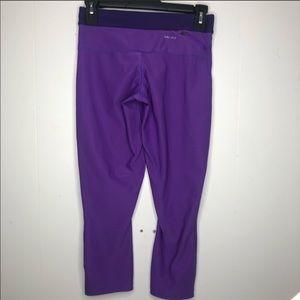 Nike Pants - Purple Nike DriFit Capri